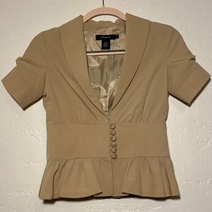 Arden B. button front blouse, size small